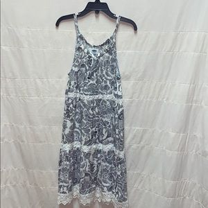 Old Navy lace & floral maxi